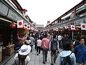 2009/5/3 日本東京自由行:浅草寺-仲見世通