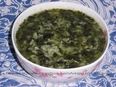 素食料理:【素食料理】莧菜胚芽米粥-01