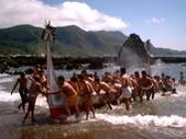 蘭嶼大船下水祭 十年大典:蘭嶼大船下水祭-回航