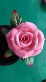習作與畫作回憶:自製紙黏土玫瑰1