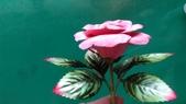 習作與畫作回憶:自製紙黏土玫瑰2