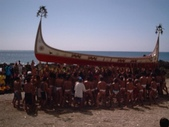 蘭嶼大船下水祭 十年大典:蘭嶼大船下水祭-驅邪5