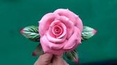 習作與畫作回憶:自製紙黏土玫瑰4