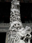 石雕之美:石雕之美-龍柱