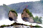 瑞士-萊茵瀑布:萊茵瀑布大岩石三
