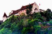 瑞士-萊茵瀑布:勞芬城堡三