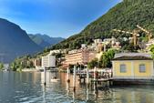 瑞士-盧加諾:渡輪碼頭附近的景色六.jpg