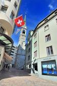 瑞士-聖摩里茲:多爾夫區鐘塔一.jpg