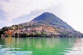 瑞士-盧加諾:渡輪碼頭的布雷山十九.jpg