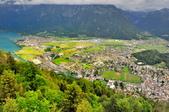 瑞士-哈德庫爾姆:俯望兩湖間的茵特拉肯一.jpg