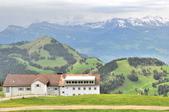 瑞士-瑞吉山:旅館觀景台附近的景色九