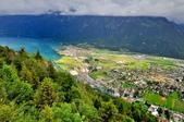 瑞士-哈德庫爾姆:俯望兩湖間的茵特拉肯二.jpg