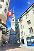 瑞士-聖摩里茲:多爾夫區鐘塔二.jpg