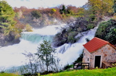克羅埃西亞-科卡國家公園:階梯式瀑布十二.jpg
