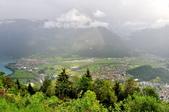 瑞士-哈德庫爾姆:俯望兩湖間的茵特拉肯十二.jpg