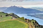 瑞士-瑞吉山:旅館觀景台附近的景色二十六.jpg