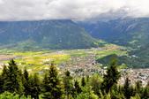 瑞士-哈德庫爾姆:俯望兩湖間的茵特拉肯十七.jpg