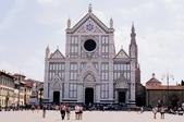 義大利佛羅倫斯-領主廣場與共和廣場:聖十字教堂二.jpg