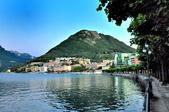 瑞士-盧加諾:渡輪碼頭附近的景色十四.jpg