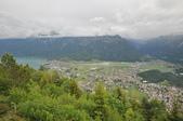 瑞士-哈德庫爾姆:俯望兩湖間的茵特拉肯十.jpg