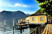 瑞士-盧加諾:渡輪碼頭附近的景色五.jpg