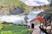 克羅埃西亞-科卡國家公園:階梯式瀑布三.jpg