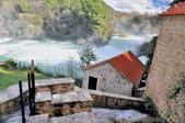 克羅埃西亞-科卡國家公園:階梯式瀑布一.jpg