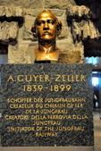 瑞士-少女峰車站:Adolf 工程師雕像.jpg