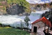 克羅埃西亞-科卡國家公園:階梯式瀑布四.jpg