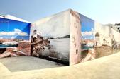 希臘-米克諾斯島:米克諾斯島的主要景點圖示牆.jpg