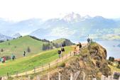 瑞士-瑞吉山:旅館觀景台附近的景色十八.jpg