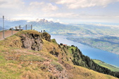 瑞士-瑞吉山:旅館觀景台附近的景色十五.jpg