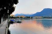 瑞士-盧加諾:渡輪碼頭附近的景色十三.jpg