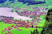 瑞士-哈德庫爾姆:俯望兩湖間的茵特拉肯三十二.jpg