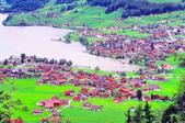 瑞士-哈德庫爾姆:俯望兩湖間的茵特拉肯三十三.jpg