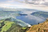 瑞士-瑞吉山:旅館觀景台附近的景色十四.jpg