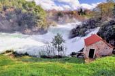 克羅埃西亞-科卡國家公園:階梯式瀑布六.jpg