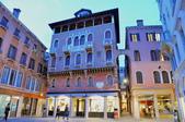 義大利威尼斯-貢多拉和水上巴士之旅:利雅德橋附近的景色四.jpg
