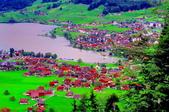 瑞士-哈德庫爾姆:俯望兩湖間的茵特拉肯三十四.jpg