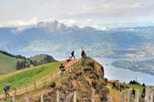 瑞士-瑞吉山:旅館觀景台附近的景色十九.jpg