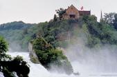 瑞士-萊茵瀑布:勞芬城堡四