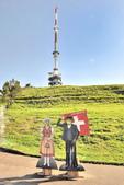 瑞士-瑞吉山:山頂上的無線電塔六.jpg