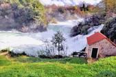 克羅埃西亞-科卡國家公園:階梯式瀑布七.jpg