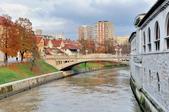 斯洛維尼亞-朱布亞那:屠夫橋附近的景色七.jpg