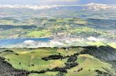 瑞士-瑞吉山:旅館觀景台附近的景色十一