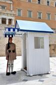 希臘-雅典市區:憲法廣場的交接衛兵一.jpg