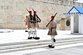 希臘-雅典市區:憲法廣場的交接衛兵五.jpg