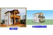 桃園觀音羅小姐家-休閒木屋:小木屋&木屋設計建造&原村木構
