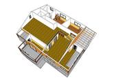 桃園新屋-頂樓木屋:新屋後湖頂樓木屋-室內格局圖