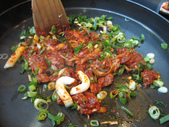 美食 별미:유가네 닭갈비 辣炒雞肉
